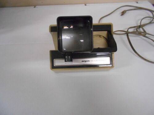 VINTAGE ARGUS 693 ELECTROMATIC SLIDE VIEWER