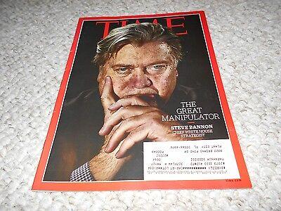 Time 2017 Steve Bannon The Great Manipulator Trump Roger Federer