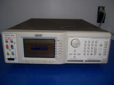 11006 Wavetek Datron 9000 Meter Calibration System