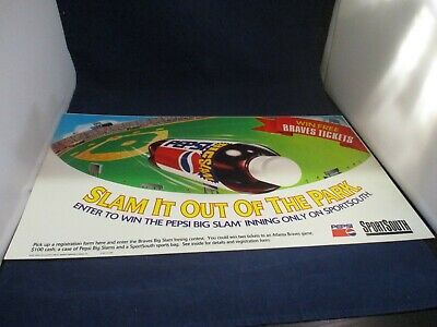 Slam It (Slam It Out the Park Sports South Atlanta Braves Pepsi Store Display Promo)