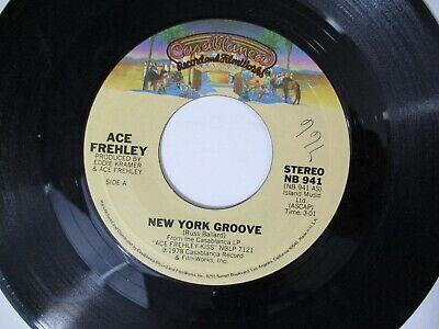 Ace Frehley New York Groove / Snow Blind 45 Casablanca 1978 Kiss