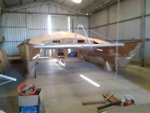 30ft Catamaran Partially Completed