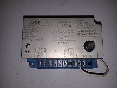 Johnson Controls Direct Spark Ignition Control G765bca-10
