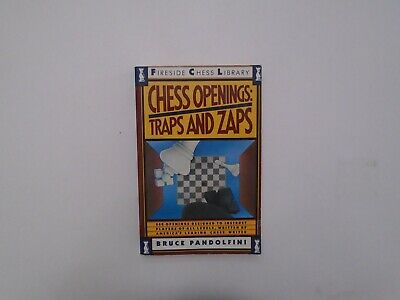 Chess Traps - Chess Openings : Traps and Zaps by Bruce Pandolfini (1989, PB)