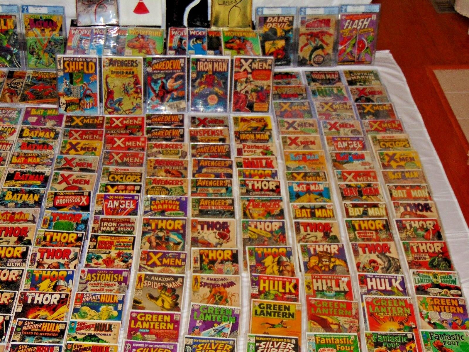 Silver age Comic Grab Bags Marvel, dc, Spider-man,Daredevil,Thor,Hulk,Avengers,