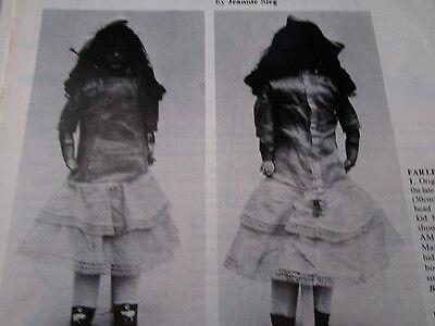 "17"" 18"" 20"" 22"" French Doll Dress Pattern / 1920's Style/Jeannie Sieg"