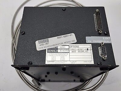 Luxtron Model 0201 Monochromator W Fiber Optic Cable 5001-0201-01-00