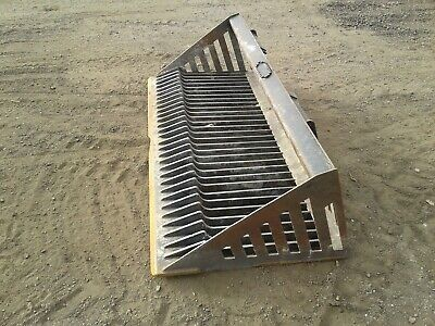 Skid Steer Rock Bucket Attachment 72 Wide With Smooth Edge No Shipping Pick Up