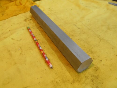 """304 / 304L STAINLESS STEEL HEX BAR machine shop metal stock 1 1/2"""" x 12"""" OAL"""