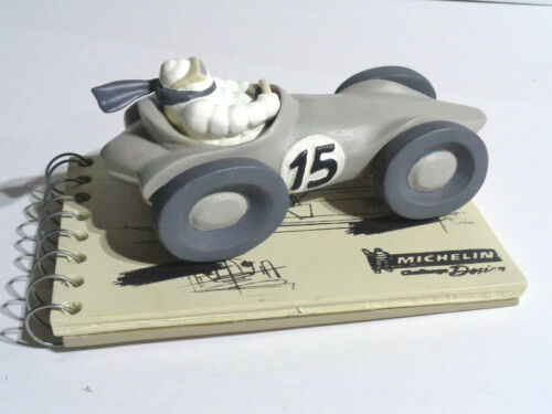 Michelin Design Challenge Collectible Figurine 2014 Man Driving Race Car 35/150