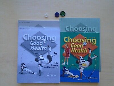 Choosing Good Health lot of 4  A Beka Book homeschooling 6th grade curriculum for sale  Shipping to Canada