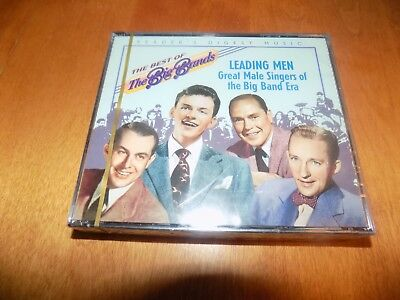 THE BEST OF BIG BANDS LEADING MEN GREAT MALE SINGERS BIG BAND ERA 2 CD SET