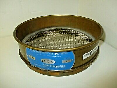 Fisher Scientific Usa Standard Testing Sieve .223 Inches