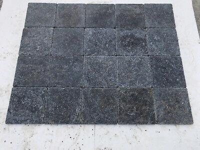 Blaustein Antikmarmor Fliesen 20x20x1 cm getrommelt Innen-& Außenbereich 29 €/m²