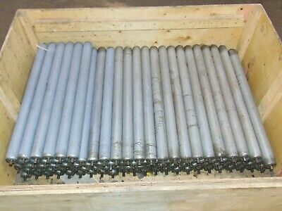 Lot Of 95 Replacement Gravity Roller Conveyors Rollers 27