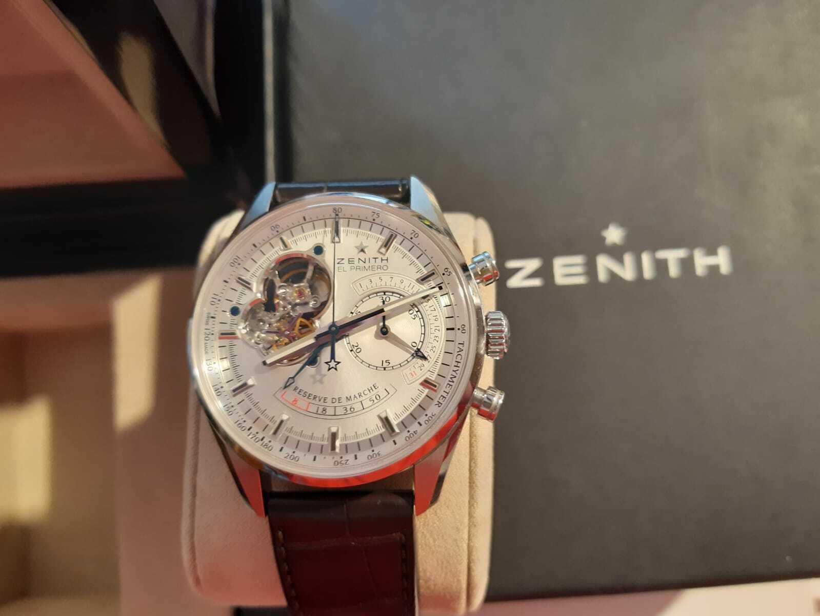 Zenith El Primero Armbanduhr - watch picture 1
