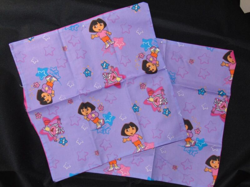 THROW PILLOW DORA THE EXPLORER SET OF 2