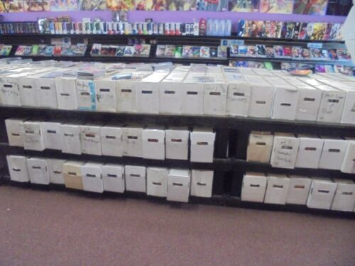 GIANT Lot of 50 + DC MARVEL & INDIE Comic Books MODERN COPPER BRONZE