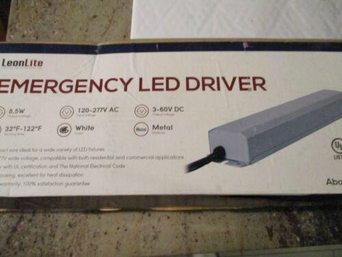LEONLITE 8.5W 3-60VDC Emergency LED Driver, Rechargable