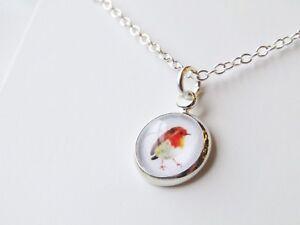 Robin Necklace Ladies Jewellery Gift Pendant Bird Present Christmas Secret Santa