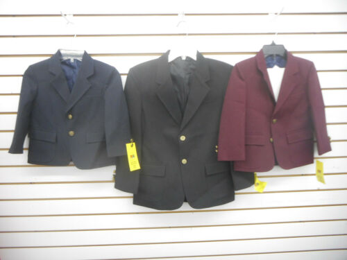 Boys Rifle/Kaynee Assorted Colors School Uniform Blazers Husky & Regular Sizes