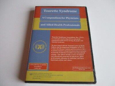 Tourette Syndrome A Compendium For Physicians And Allied Health Prof  Cd Dvd New