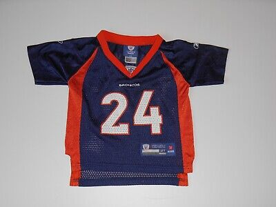 Reebok On Field CHAMP BAILEY DENVER BRONCOS Toddler NFL Team Replica JERSEY 2T