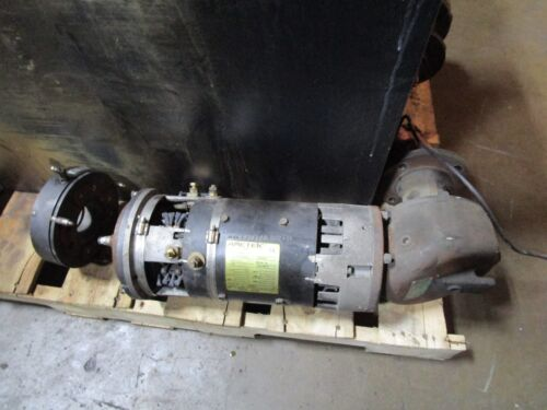 Toyota Fork Lift Drive Motor And Gear Box Ametek Prestolite Mvx400 36v
