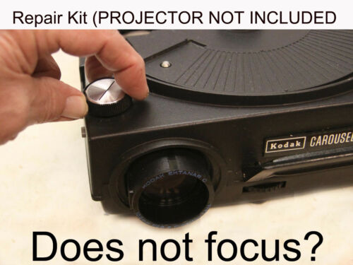 Kodak Carousel/Ektagraphic Projector - Manual Focus Gear Repair Kit