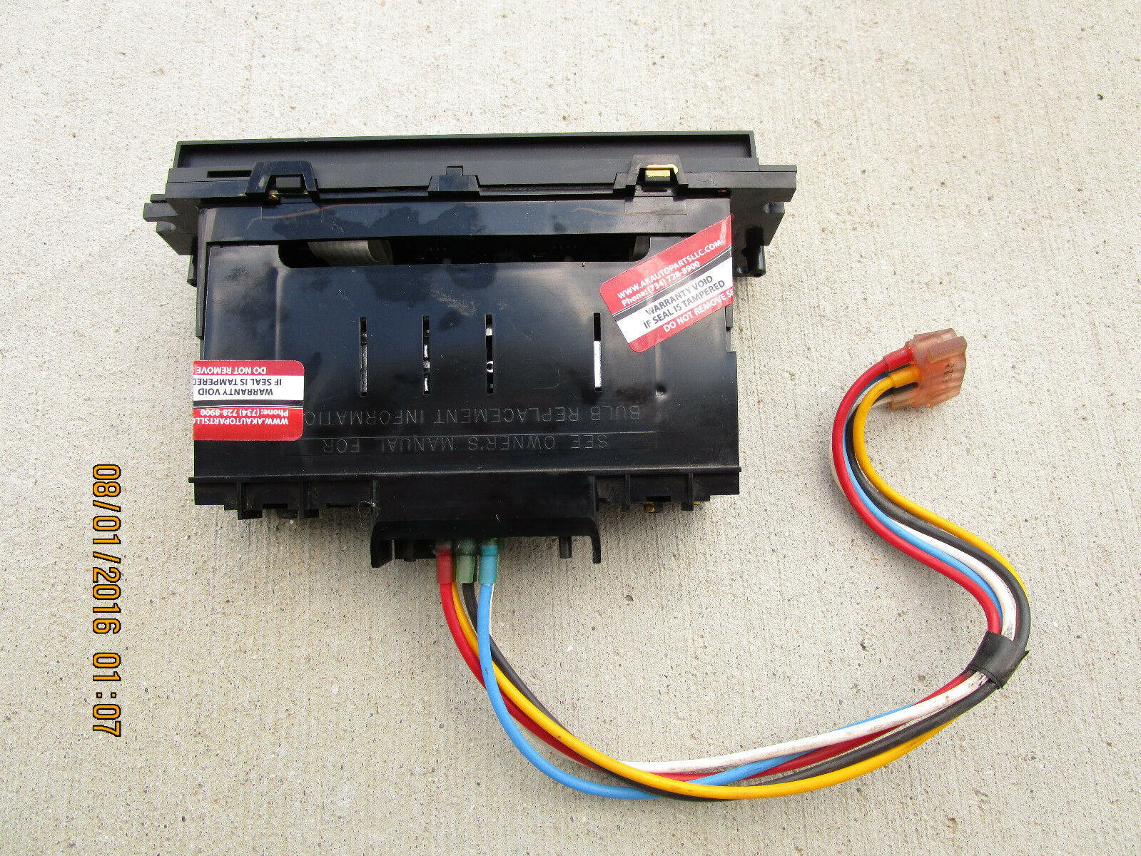 Used 1998 Mercury Grand Marquis A/C and Heater Controls for Sale