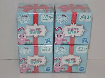 Lot of 4 My Little Pony Best Gift Ever Mini Pony Figure Blind