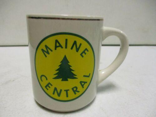 Maine Central Train Ceramic Coffee Mug