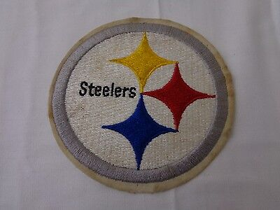 Vintage Pittsburgh Steelers Patch Embroidered Logo Insignia