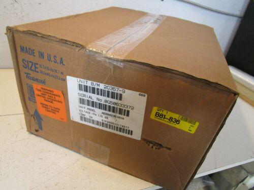 "Tecumseh AEA9423EXAXA Condensing Unit, 115V, R-22, 1/4 hp, 3/8"" x 1/4"" SAE Flare"