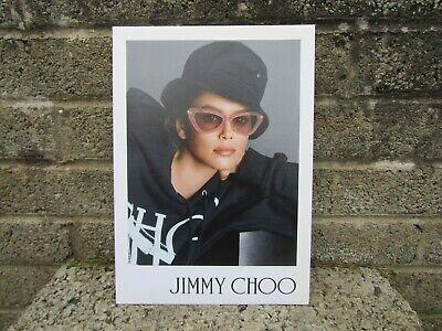 Jimmy Choo designer eyewear shop display advertising - standing cardboard