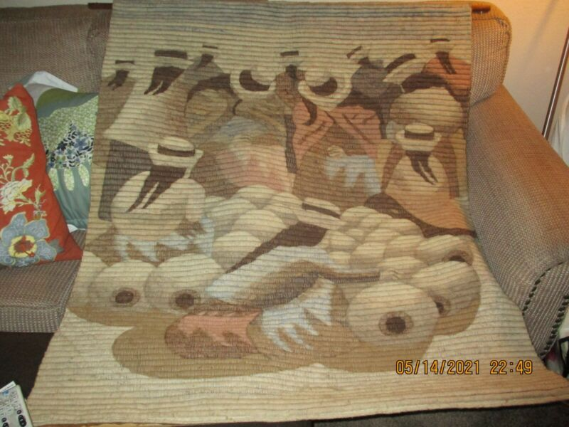 Vintage Handcrafted Peruvian Wallhanging