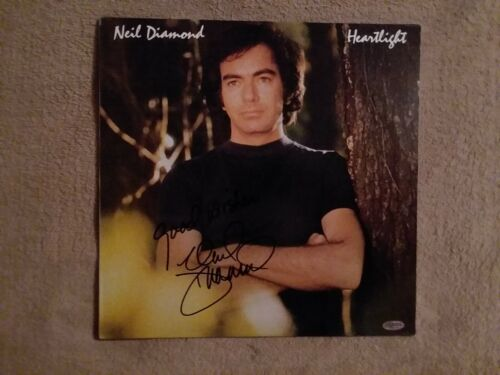 NEIL DIAMOND SIGNED LP;  Comes with a COA card and sticker on cover.