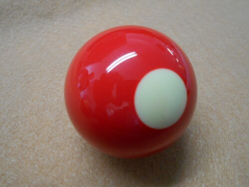 """2 1/8"""" Aramith Red White/Dot Individual Replacement Bumper Pool Table Ball 2 1/8"""