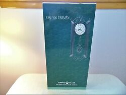 Howard Miller Wrought Iron Wall Clock, NIB, # 625 326 Carmen