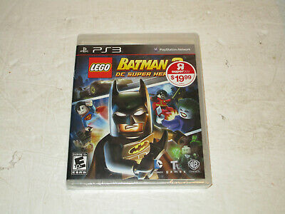 Lego Batman 2 Dc Superheroes for Ps3 New Sealed Free Shipping