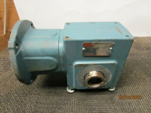 DODGE TIGEAR A200S050N000 GEARBOX SPEED REDUCER 50:1 RATIO .58HP 1750RPM