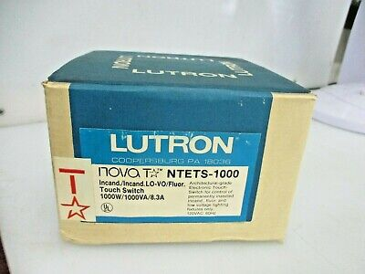 New Lutron Touch Switch Ntets-1000