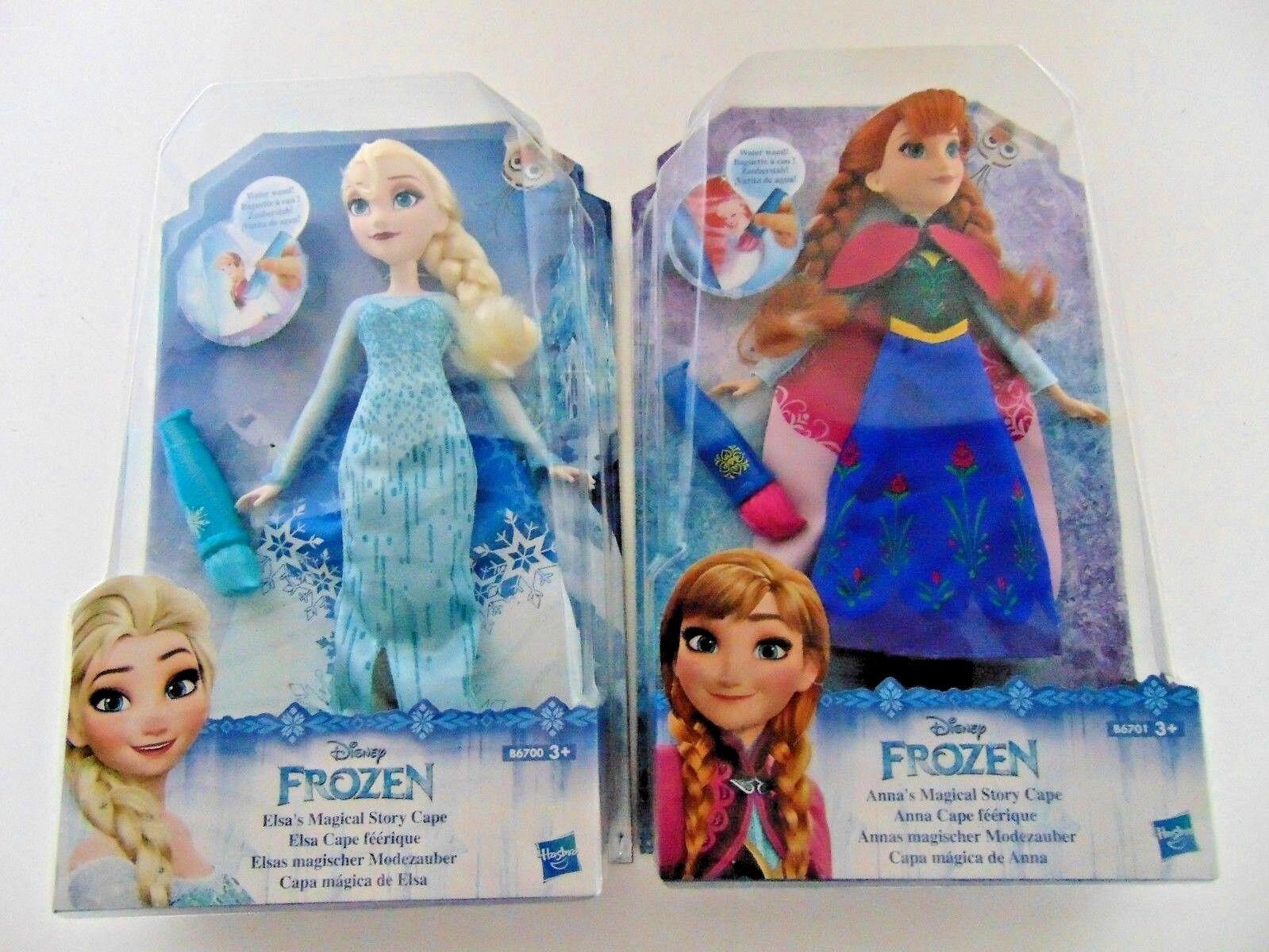 Frozen Eiskönigin Elsa Anna magischer Modezauber Puppe Figur Mädchen Zauber