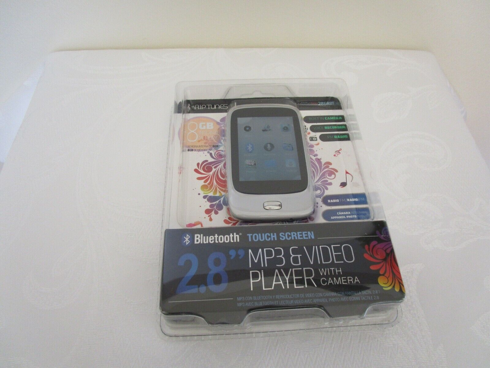 2 8 bluetooth touchscreen mp3 and video