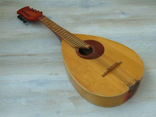 Мandolin vintage original Soviet Russian folk Instrument Lviv