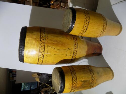 Monitor Lizard Skin Conga Drums  African?