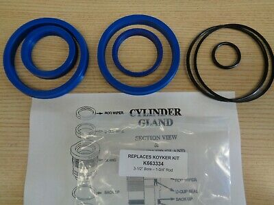 6636334 Replacement Seal Kit For Koyker 3.5 Cylinder With 1-34 Rod