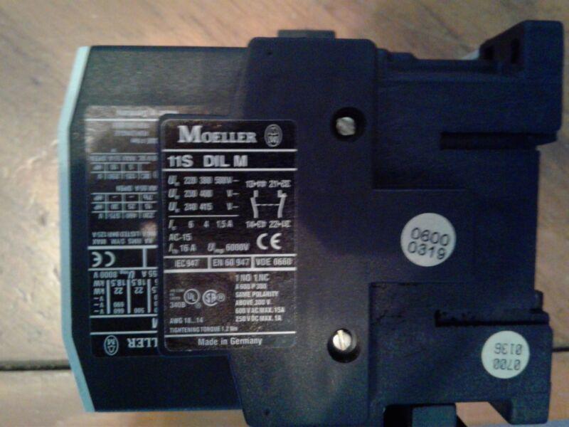 Klockner Moeller 11S DIL M Contactor (USED)