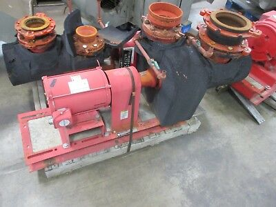 Bell Gossett Pump W Motor 5bc 7.375 Sf 600gpm 1800rpm 10hp Used