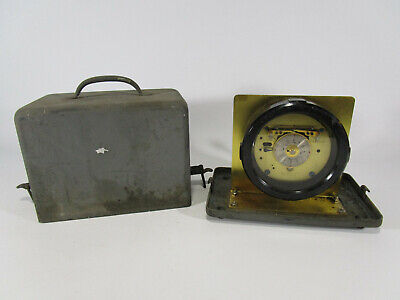 VINTAGE ANTIQUE BRASS CHELSEA CLOCK CO. Company Timer Device SHIP Navy Military